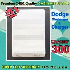 CHRYSLER 300 CHALLENGER CHARGER CABIN FILTER 11-14 Double pack x2 Save Money$!!!