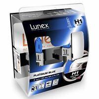 2x Lunex H1 Platinum Blue Halógeno + 70% más de luz 4700K