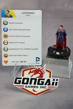 DC Heroclix Man of Steel Movie set Superman #001 Gravity Feed