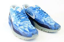 super popular 79369 c90f2 Nike Air Max 90 Blue White Mens Sneakers Size 11.5 631748-401 Basketball  Shoes