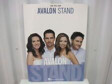 Avalon Stand Piano Vocal Guitar Sheet Music Song Book Songbook