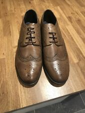 French Connection FCUK Mens Brogues Size 11 UK Brown Shoes