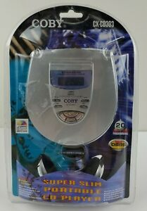 2003 Coby Portable CD Player CX-CD303 Dynamic Boost System Programmable Stereo