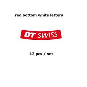 DT SWISS XC Wheel Sticker for MTB Mountain Bike Bicycle Rim Cycling Race Decal