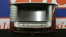 06 TOYOTA LANDCRUISER FJ100 NAVIGATION RADIO DISPLAY 86111-60250
