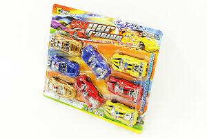 NEU 8 x Spielzeugauto Fahrzeuge Rennwagen Auto Spielzeug Kunststoff