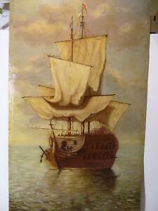 Segelschiff Kolumbus Galeere Piraten Schiff Kanone 1919 Hamburg Holland Marine