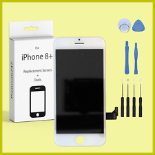 For iPhone 8 PLUS WHITE Original OEM IC Screen Replacement LCD Digitizer