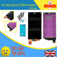 For Sony Xperia Z3 Mini Compact D5803 D5833 LCD Screen Touch Digitizer Black UK