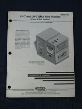 LINCOLN LN-7 AND LN-7 GMA WIRE FEEDERS OPERATOR'S MANUAL IM351-C, July 1996