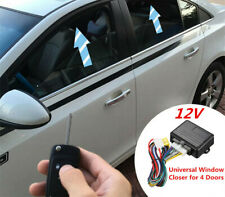 12V Automatic Window Closer For Car 4Door Alarm Systems Power Window Roll Up Kit