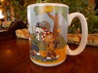 Warner Bros Coffee Cup Tweety Elmer Fudd Sylvester Bugs Bunny Daffy Looney Tunes