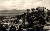 Badenweiler Schwarzwald  Postkarte ~1950/60 Blick auf die Burgruine ungelaufen
