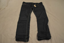 Authentic Diesel TANAZ SLIM SKINNY Distressed Washed Denim Jeans Mens Size 38x32