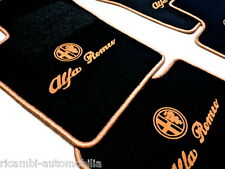 BL.-GOLD 4 X SCRIPT MAT SET FOR Alfa Romeo 159 + SW LHD or RHD