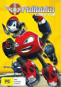Roll Bots - DVD - KIDS PG RATED BOYS ROBOTS SHOW - Region 4 BRAND NEW !
