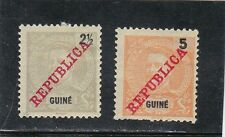 PORTUGUESE GUINE D. CARLOS I STAMPS (1911)  MH