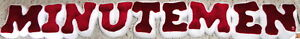 "University Massachusetts Amherst ""MINUTEMEN"" 33"" Stuffed PLUSH LETTERS New!"