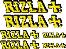 Autocollants stickers moto Rizla