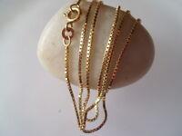 Sehr dünne 333er Goldkette Goldschmuck Kette 45 cm