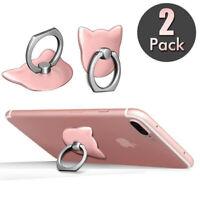 360 Universel Bague Stand Support Anneau ring téléphone pour iphone lg Samsung