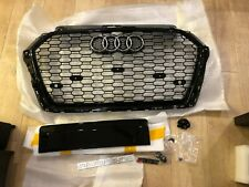 2017+ Audi RS3 Gloss Black Honeycomb Grille | 8V.5 A3/S3