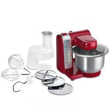 Bosch MUM48R1 Küchenmaschine MUM4 600 Watt, 3,9 L Rezept DVD Rot  (P7001)