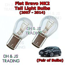 Fiat Bravo Tail Light Bulbs Pair of Rear Tail Light Bulb Lights MK2 (07-14)