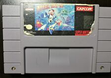 Mega Man X (Super Nintendo Entertainment System, 1993) TESTED AND WORKING