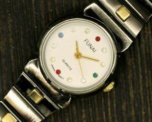 Ladies Watch FUNAI Japan Movt Vintage Watch Quartz Watch