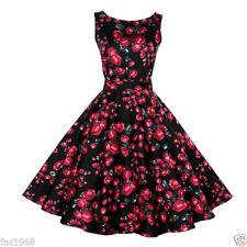 Vestiti da donna floreale senza maniche taglia M