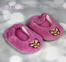 American Girl Doll Julie/'s Historical Pink Butterfly PJ Set w// slippers EUC!