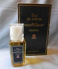 Vintage roja r & Gallet parís Santal eau de toilette 50 ml con caja rar