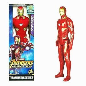"Marvel Avengers Titan Hero Series 12"" INRON MAN Action Figure by Hasbro NIB"