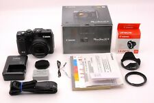 Canon G1X 14.3 MP Digital Camera Black + BOX + Accessories -Excellent From Japan