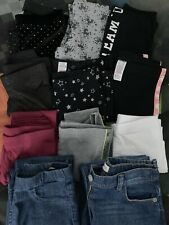 GIRLS LEGGINGS AND JEANS BUNDLE (AGED 9-10 YEARS)