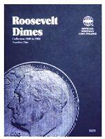 Whitman Roosevelt Dime Coin Folder Book #1 1946-1964 #9029