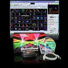 Laserworld Pangolin Quickshow Set Laser logiciel Contrôleur PC ILDA DJ jeux de lumière