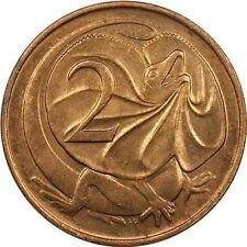 Australia 2 Cents 1966 Brilliant Uncirculated ~Red~