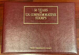 50 Years of U.S. Commemorative Stamps 1939-1988 Excellent Condition!