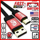 Micro USB Cable Fast Charger 2.0 Sync Data for Samsung Android HTC LG Motorola