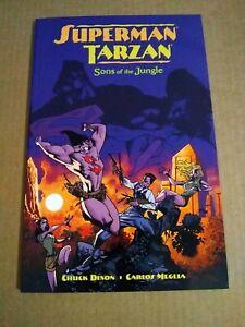 Dark Horse DC Comics SUPERMAN/TARZAN: SONS OF JUNGLE By Chuck Dixon NEW 2002