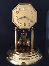 Rare Octagonal Dial 400 Day Torsion Anniversary Clock By Jahresuhrenfabrik