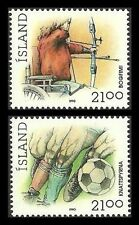 Mint Never Hinged/MNH Single Icelandic Stamps