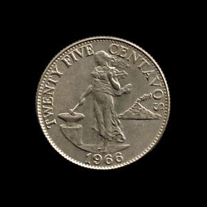 Philippines - 25 Centavos - 1966 - KM# 189.1