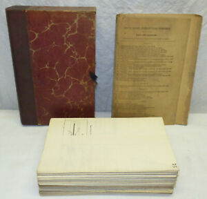 Antique 1910 Annual Report Isthmian Panama Canal Commission Maps & Diagrams