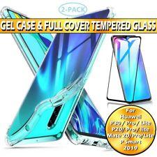 9H protector de pantalla completa de vidrio templado para Huawei P40 P30 P20 Pro Mate 20 Lite