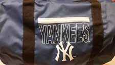 MLB BRAND NEW YORK YANKEES DUFFLE BAG GYM CARRYON 18 in by 11 in