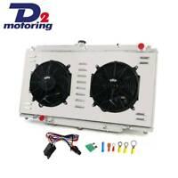 3ROW Radiator +Shroud Fan FOR Nissan PATROL GU Y61 2.8 3.0 4.2L ZD30 RD28 AT/MT