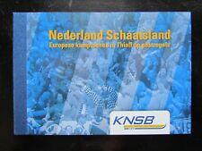 NED NVPH PP18 Persoonlijk Prestigeboekje Schaatsland Thialf 2009 Nominaal € 3,96